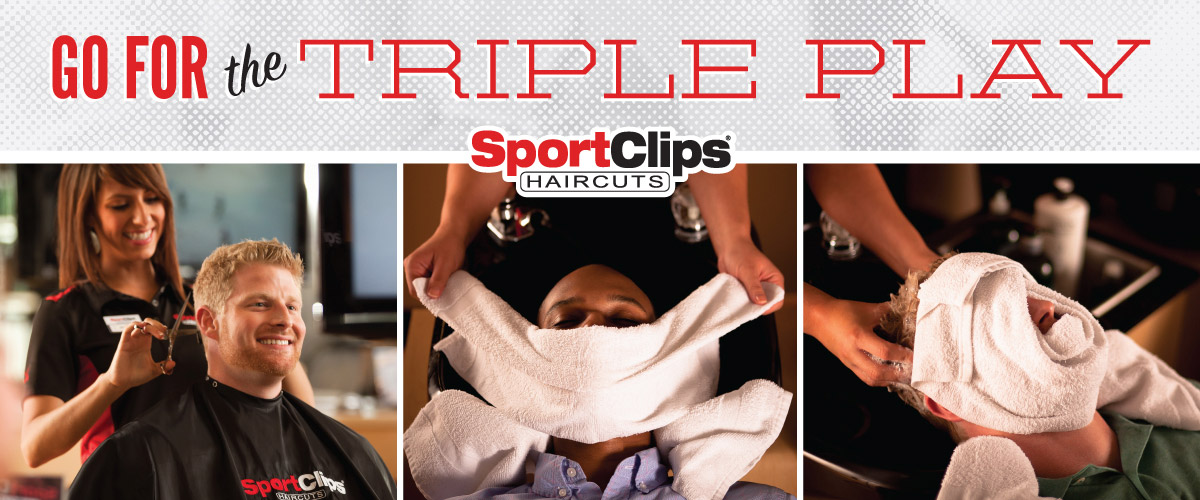 The Sport Clips Haircuts of Fort Collins Triple Play